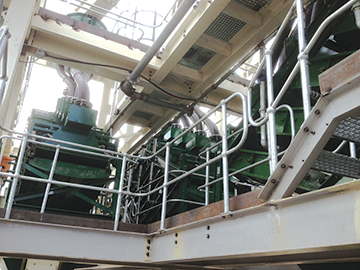 Stack Sizers replaced platinum producer's secondary mill hydrocyclones.